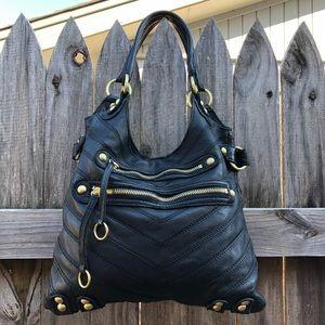 Authentic Linea Pelle Dylan Patchwork Speedy bag